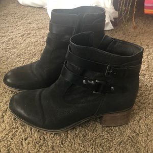 Franco Sarto Black Booties